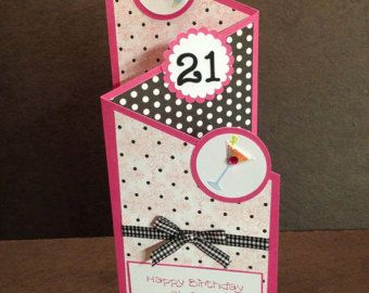 16 Homemade Birthday Cards For Her Happy 21st Birthday