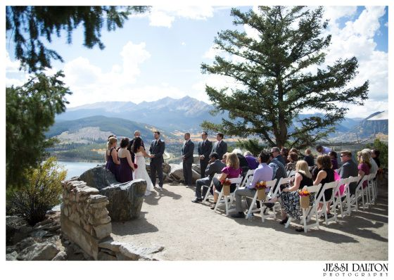 Intimate Mountain Wedding In Breckenridge Colorado Shire Point Overlook Jessi