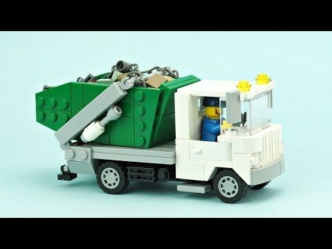 No Time To Waste The Garbage Is Piling Up Instructions Lego