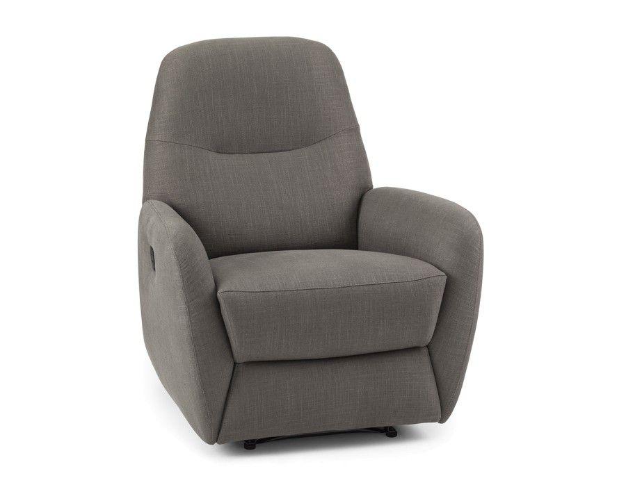Zac Dark Grey Grey Recliner Recliner Armchair