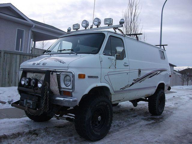 1976 Gmc Vandura 4x4 Conversion Van Vans Gmc Vans Vintage Vans