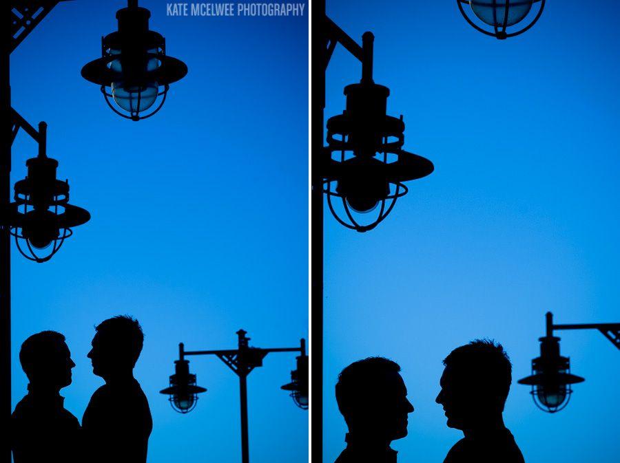 14 Cool Silhouette Shot Engagement Portrait