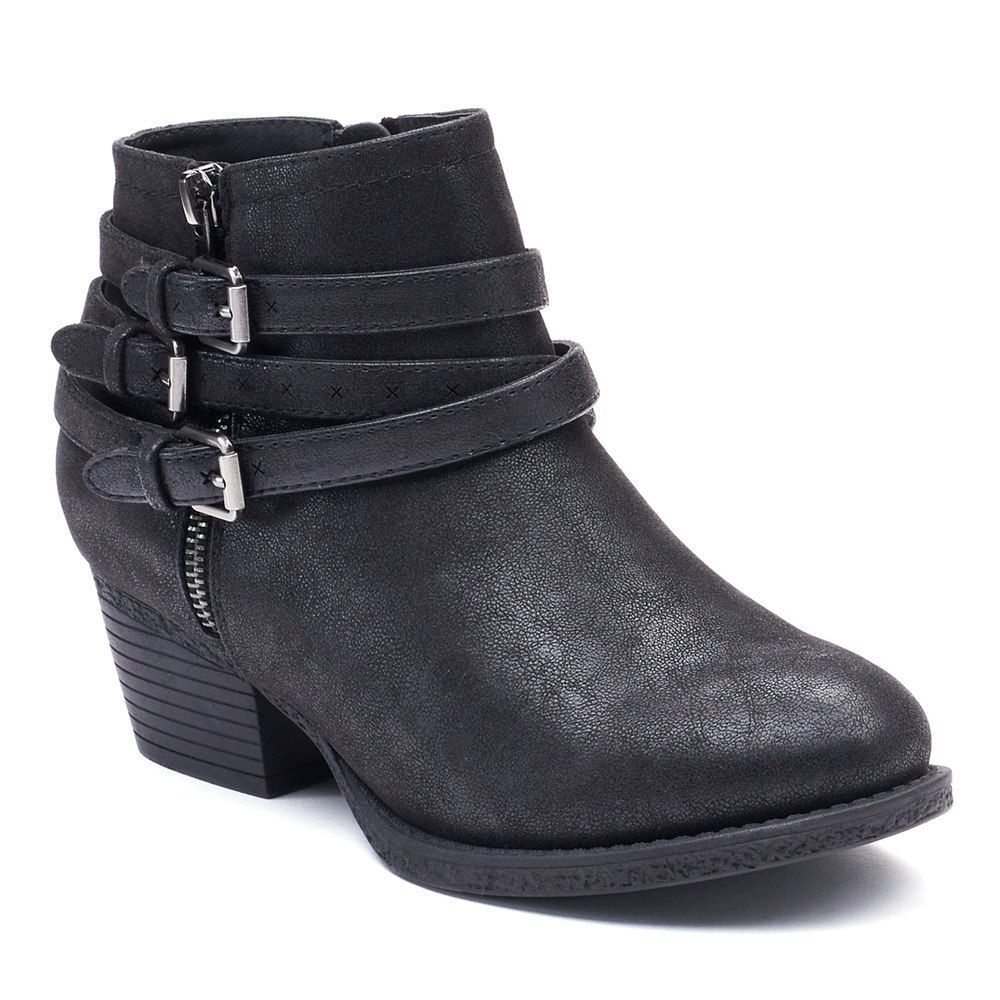 SONOMA Goods for Life™ Rosalind Women's Ankle Boots, Size: medium (7.5), Black