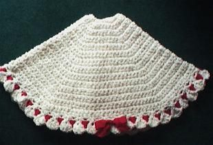 1000+ images about crochet tree skirts on Pinterest | Tree skirts ...