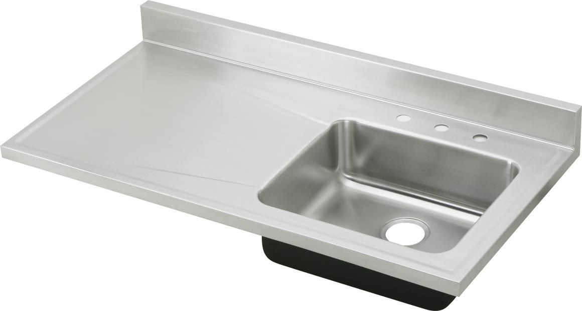 Awesome Stainless Steel Countertop With Sink Luxury Stainless