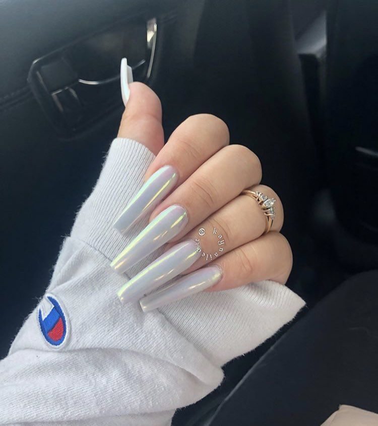 Kaynailedit On In 2020 Rave Nails Swag Nails Ghetto Nails