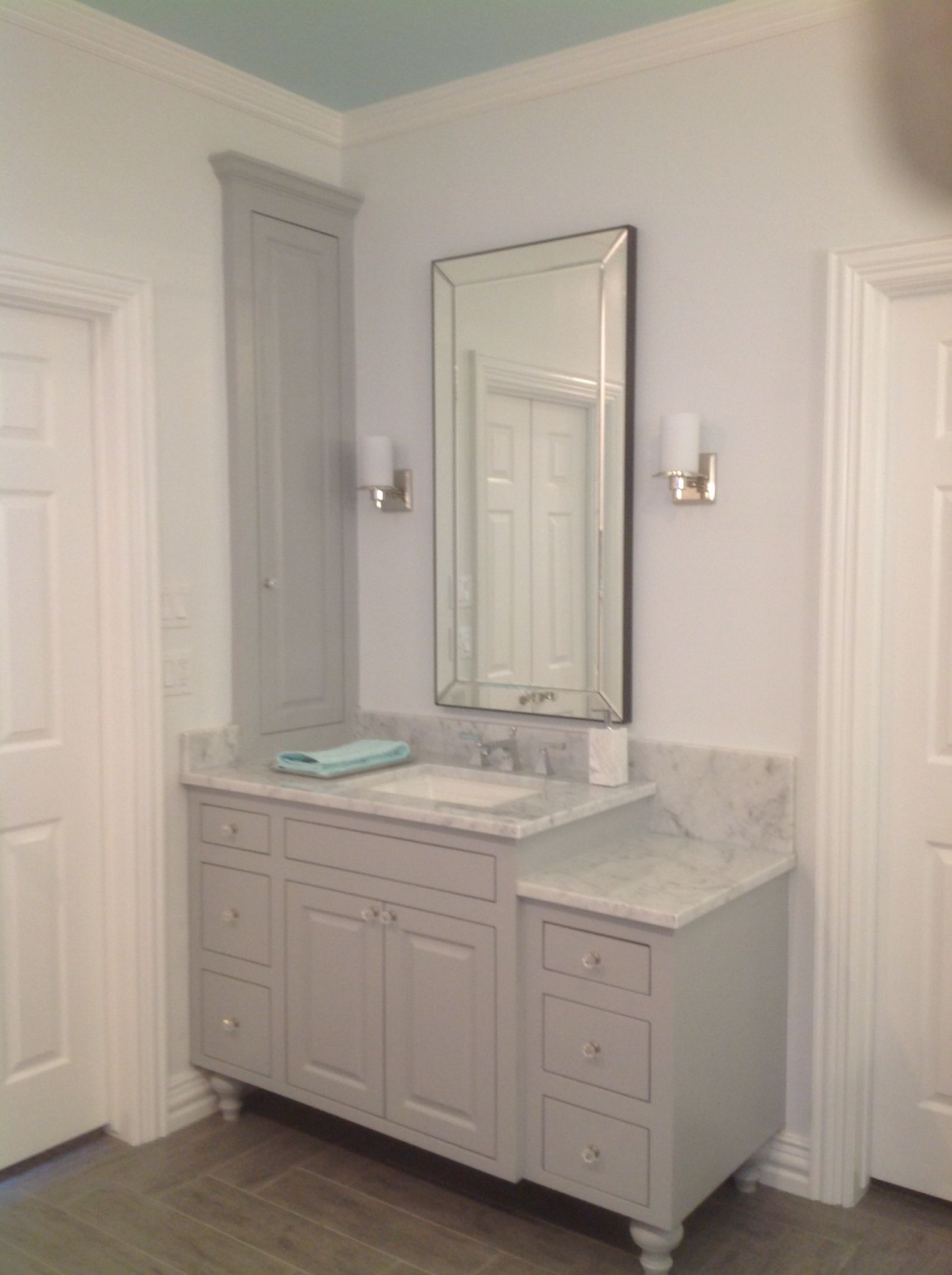 vanity bathroom feel your the vanities style and design pottery look diy change to barn of