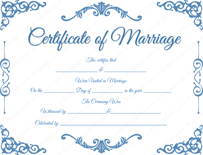 photograph regarding Printable Marriage Certificates referred to as wedding day certification templates no cost printable Standard