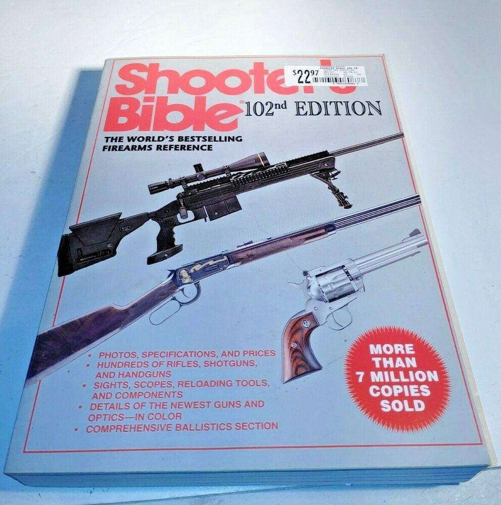 The Shooters Bible The World S Bestselling Firearms Reference Wayne Van Zwolls Bible Firearms World