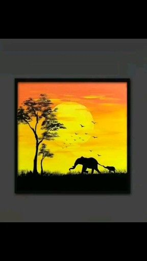 Photo of Nature Canvas Painting #canvaspainting