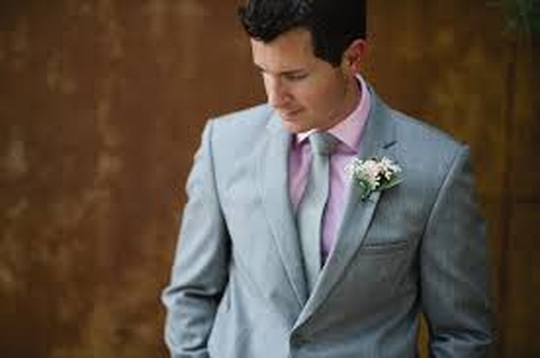 Awesome 35 Cozy Grey Suit Pink Shirt For Mens Looks More Cool. More ...