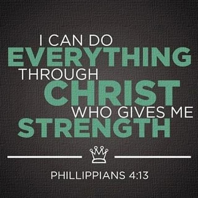 I Can Do All Things Through Christ Who Gives Me Strength Bible Verses For Girls