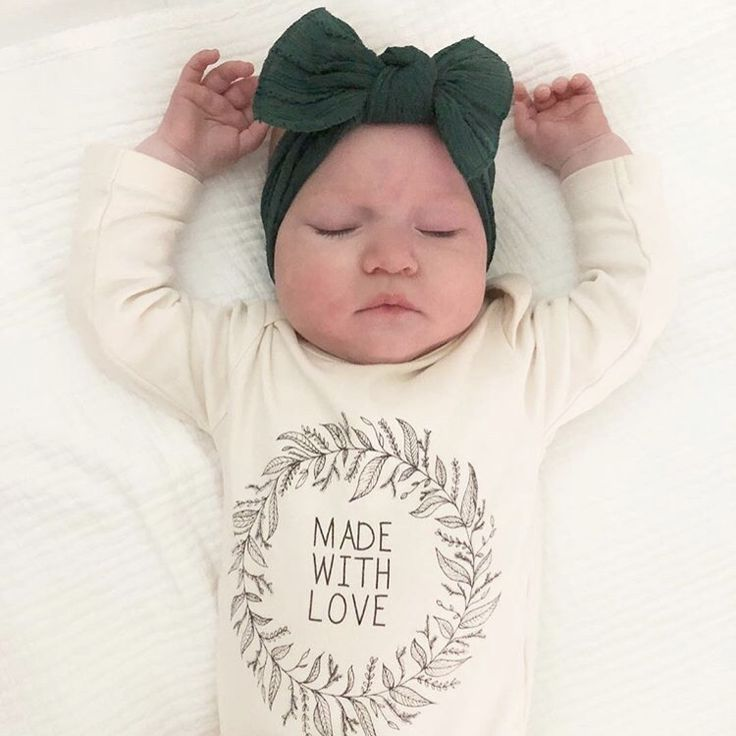 newest collection 2b978 0b408 Made With Love - Organic Bodysuit - Long Sleeve | FALL BABY ...