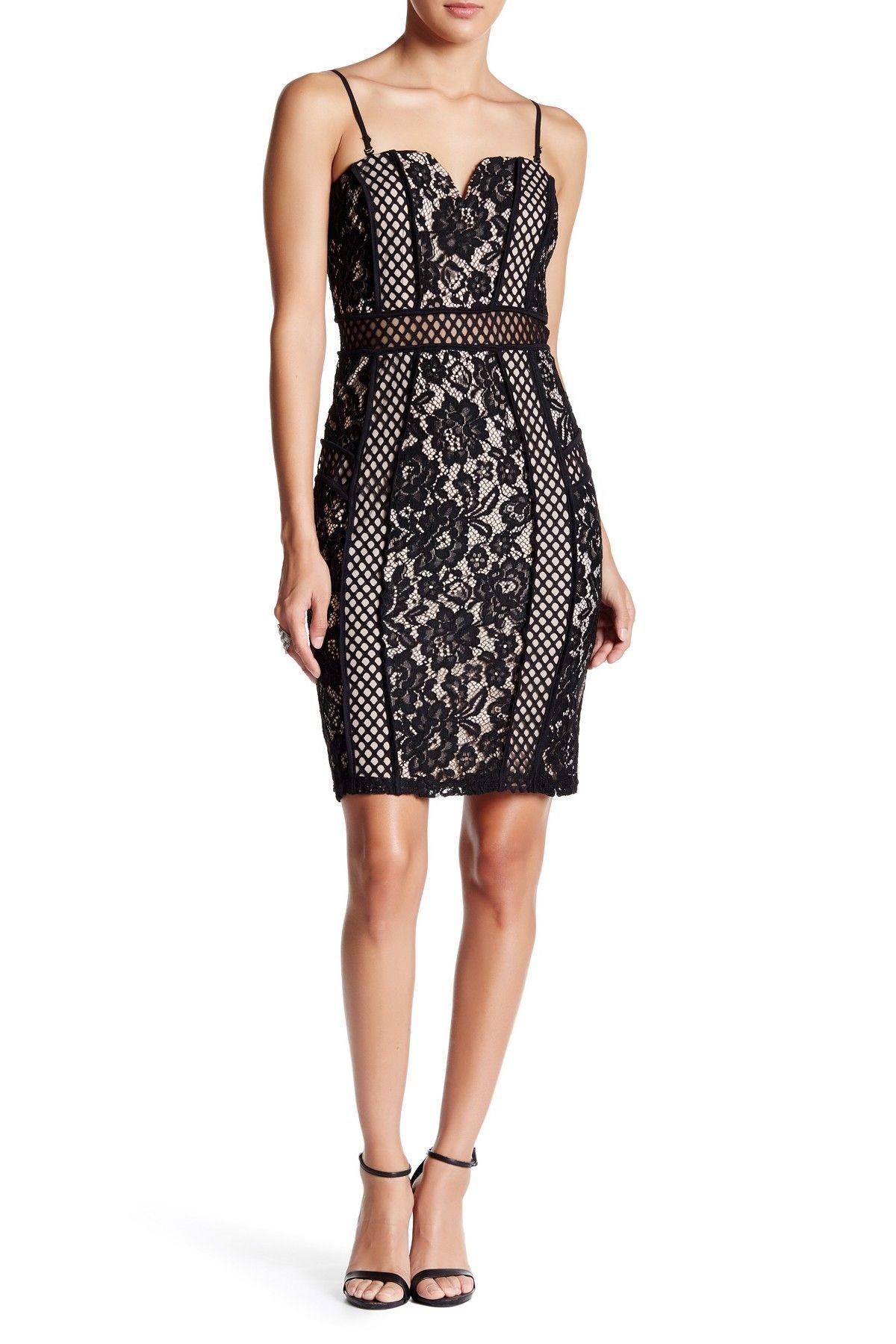 Yoana baraschi celestial garden lace dress nordstrom rack - Just Me Lace Bandeau Dress
