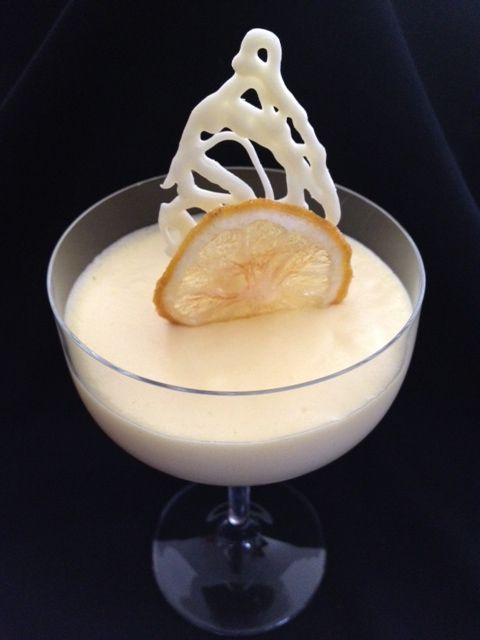 In Danny's Kitchen: Limoncello White Chocolate Mousse