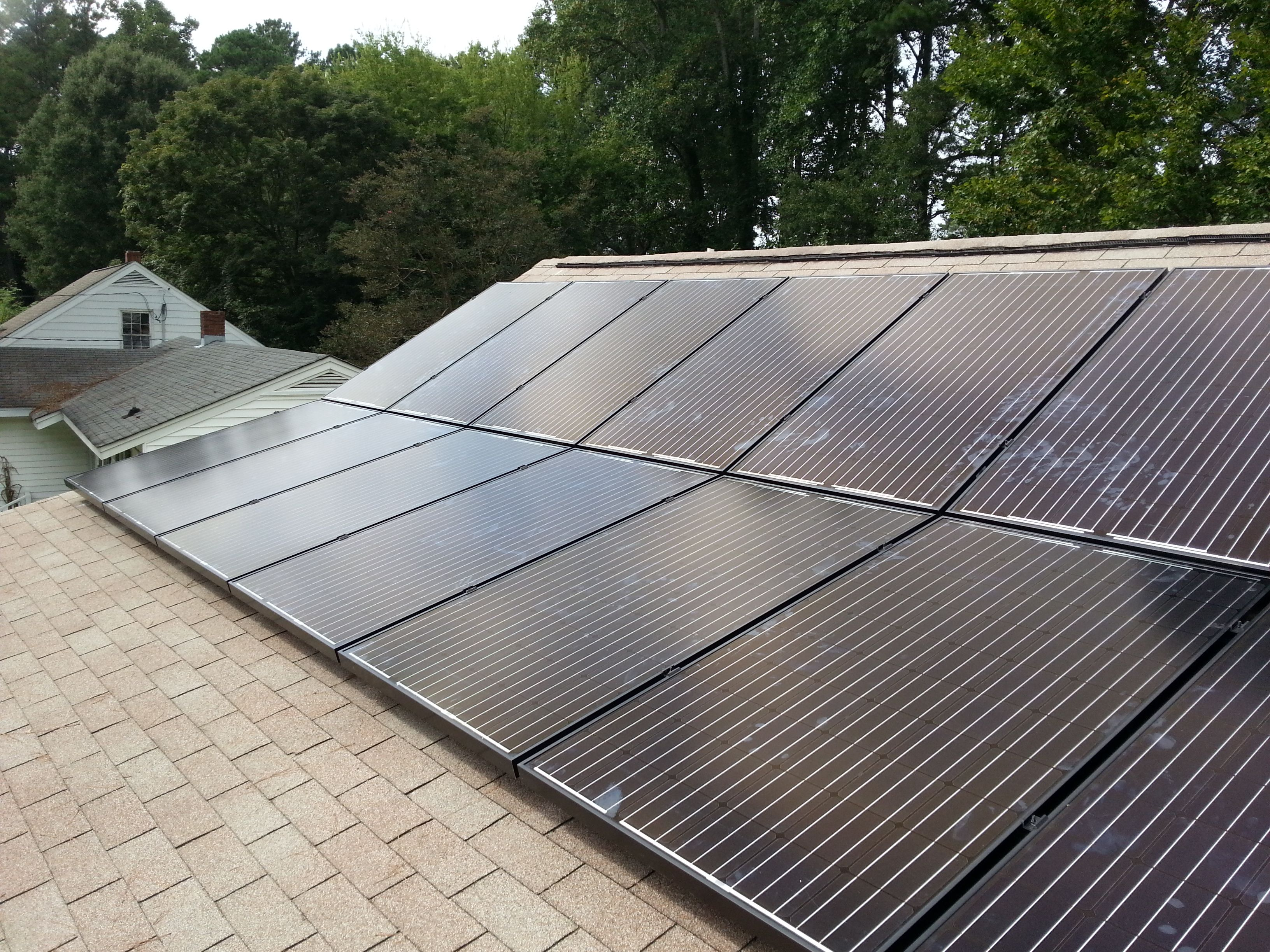 4 32 Kw Solar Pv System Installed On A House In Raleigh Nc Roof Solar Panel Solar Panels Solar