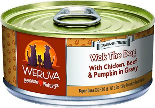 Weruva Dog Food Wok The Dog 5 5 Ounce Cans By Weruva Visit The Image Link More Details This Is An Affili Dog Food Recipes Canned Dog Food Chicken Livers