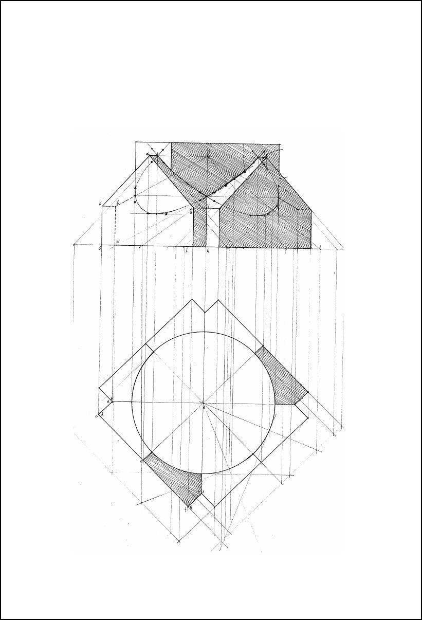 Cours de Géométrie Descriptive Géométrie, Mathématiques