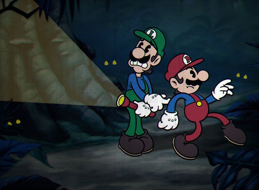 Yandere Heaven Game Cuphead-inspired Mario...