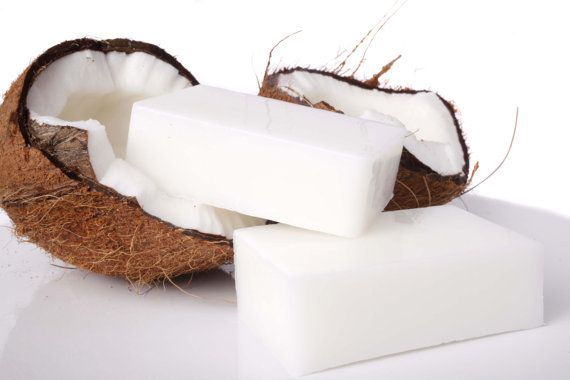 Exotic Coconut Soap  castile OLIVE oil    by NaturalBathSpa, $5.00