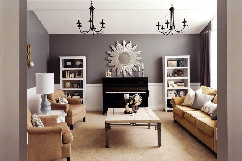 Warna Cat Ruang Tamu Modern Ruangan Perabot Desain