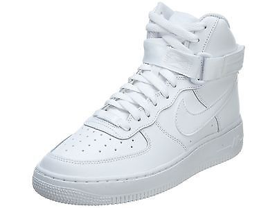 Nike Air Niños Force 1 High Gs Niños Air Grandes 653998 100 Blanco Zapatos Zapatillas 2250f8