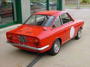 1968 Fiat 500 Moretti Sport Coupe For Sale Rear Anything Every