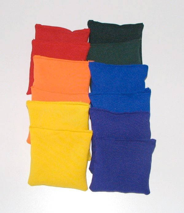 4 inch bean bag shapes, squares and textured #danceandmovement