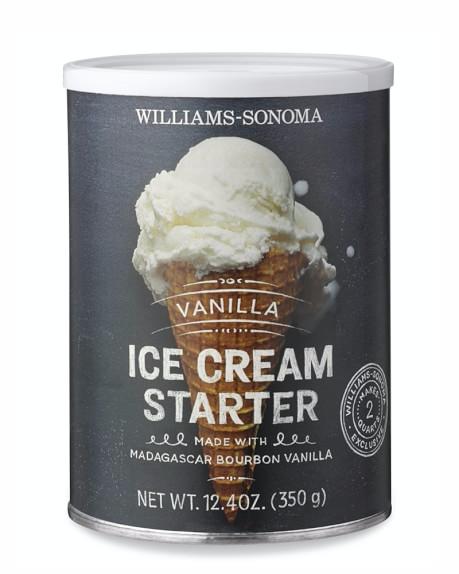 Williams Sonoma Ice Cream Starter Vanilla Ice Cream Packaging Cuisinart Ice Cream Maker Ice Cream