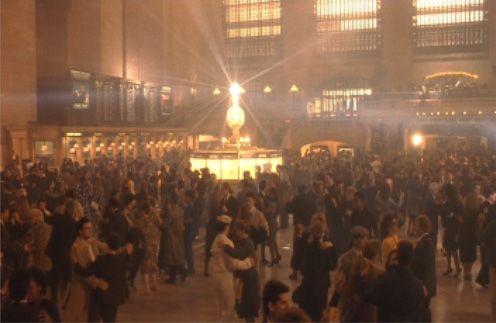 "Waltz scene from ""The Fisher King,"" Grand Central Terminal. DoP Roger Pratt"