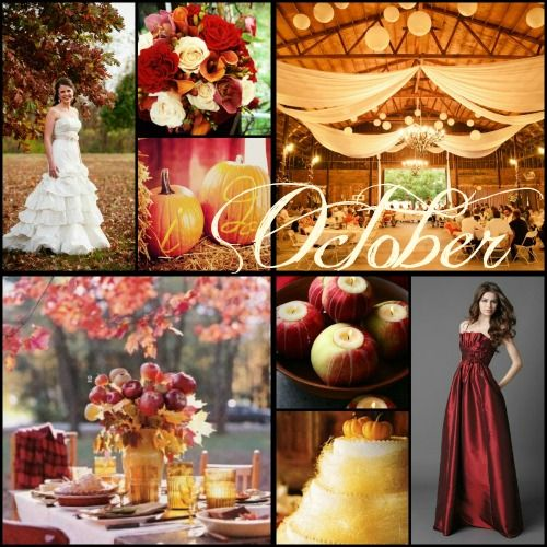 Fall Wedding Color Ideas: Great Fall Colors! I Love The Richness Of These Colors