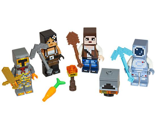 LEGO® Minecraft™ Skin Pack 2   LEGO Shop   Lego minecraft set's ...
