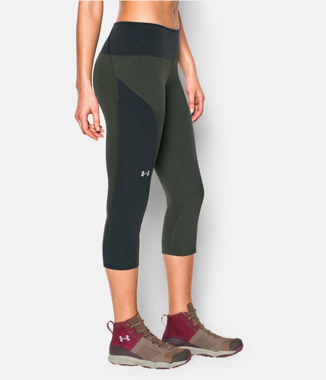 fef9decd400 Shop Under Armour for Women s UA ArmourVent™ Trail Capri in our Womens  Bottoms department. Free shipping is available in US.