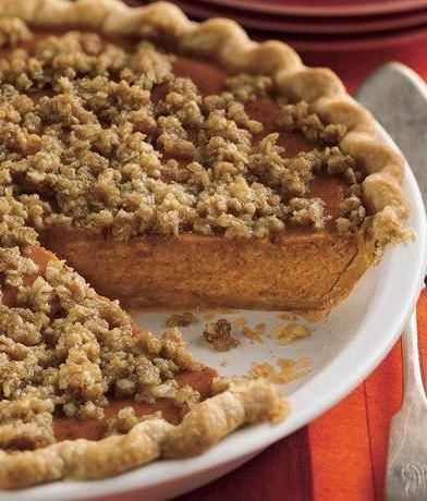 Streusel-Topped Pumpkin Pie (1) From: Betty Crocker, please visit