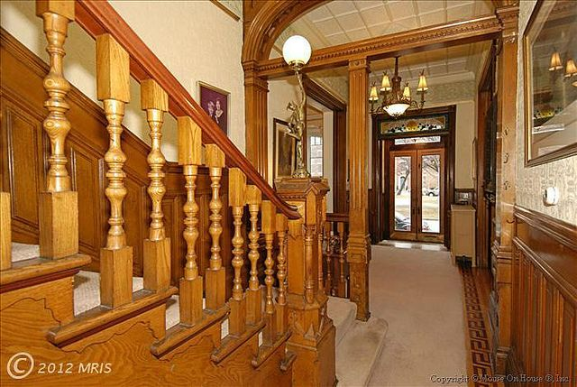 Baltimore Victorian Gothic Style Row House Interior Victorian