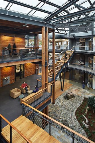 An Energy Efficient Building That Lives Up To The Hype Modern Architecture Building Commercial And Office Architecture Architecture Building