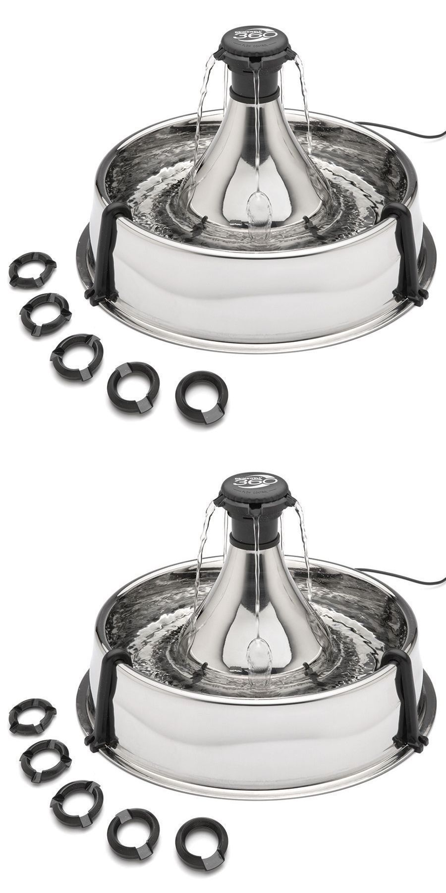 Drinkwell 360 Fountain Multi Pet Stainless Steel For Dogs Cats Pww00 13705 Multi Pet Dog Cat Pets