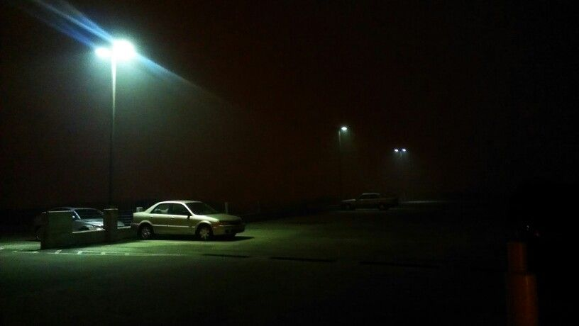 Car in parking lot at night | Park photography, Night aesthetic, Alone in the dark