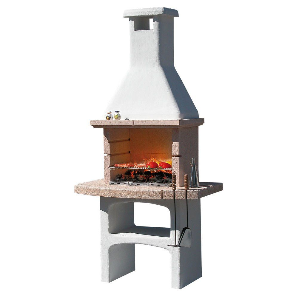 Caminetto barbecue in pietra touareg by mcz garden on - Barbecue esterno ...