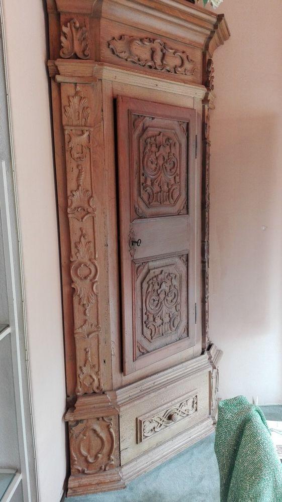 antiker eckschrank aus dem 19. jahrhundert | home furnishings, Attraktive mobel