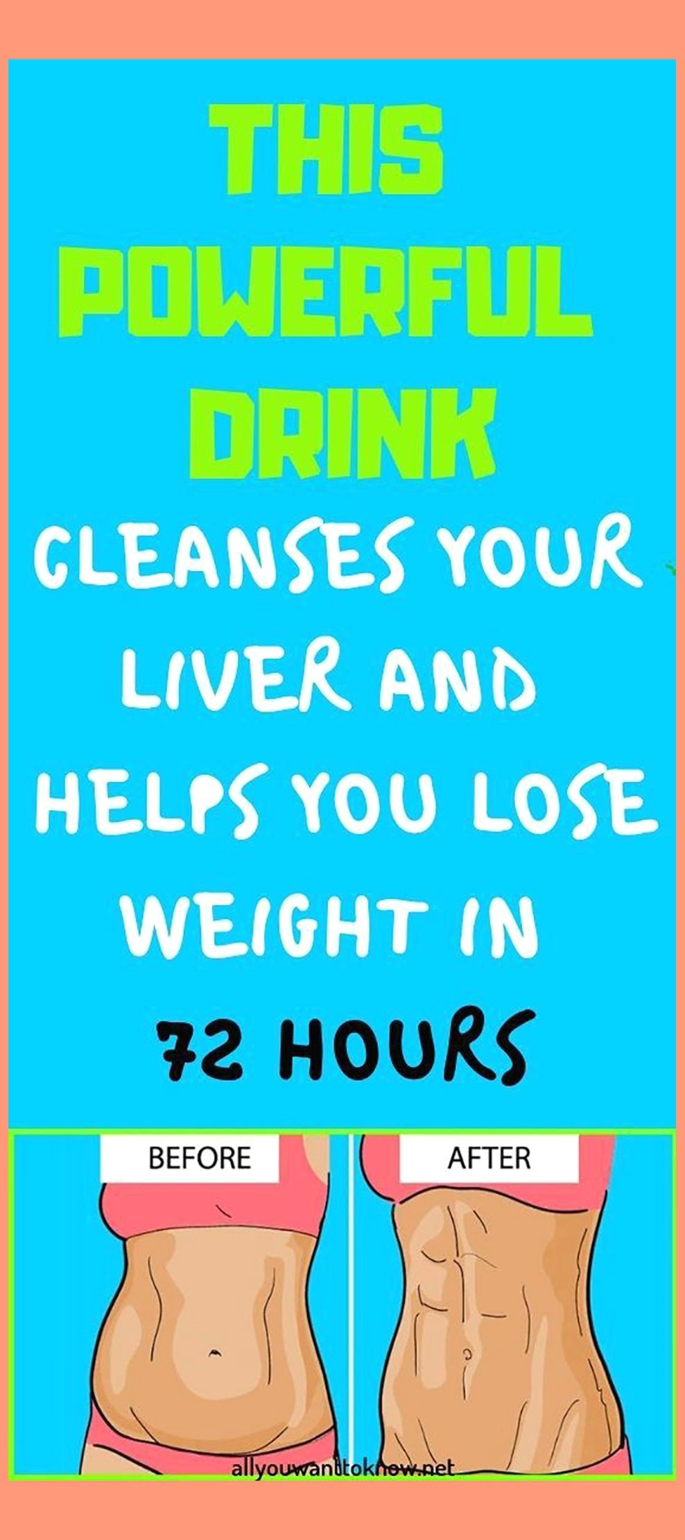 A Powerful Drink That Cleanses Your Liver And Help