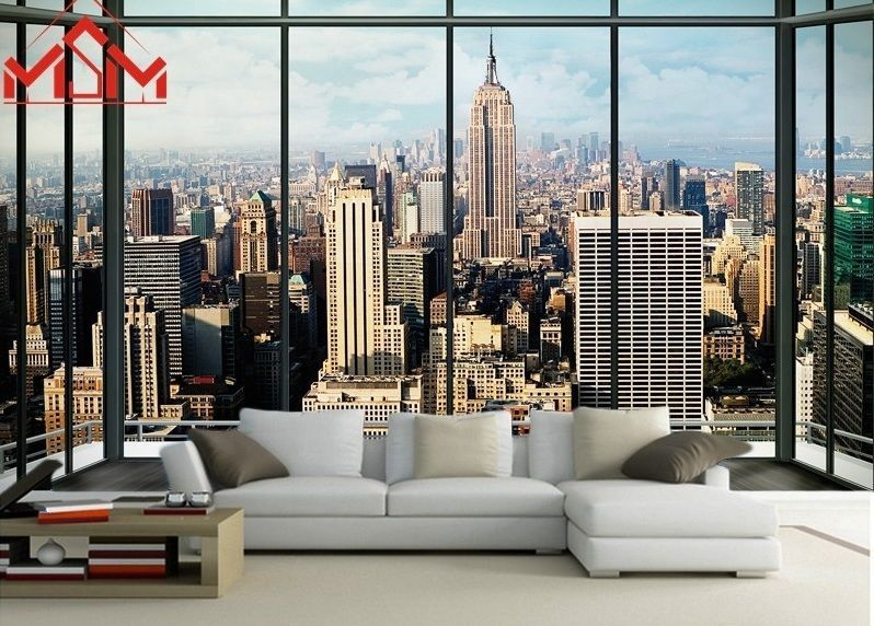 Superieur Home 3D Wallpaper Bedroom Mural Roll Luxury Modern New York City Wall  Background