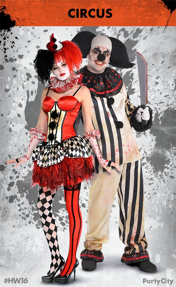 Form the ultimate Circus power couple with Halloween