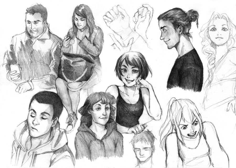 Practice doodles by Lapis-Razuri on DeviantArt