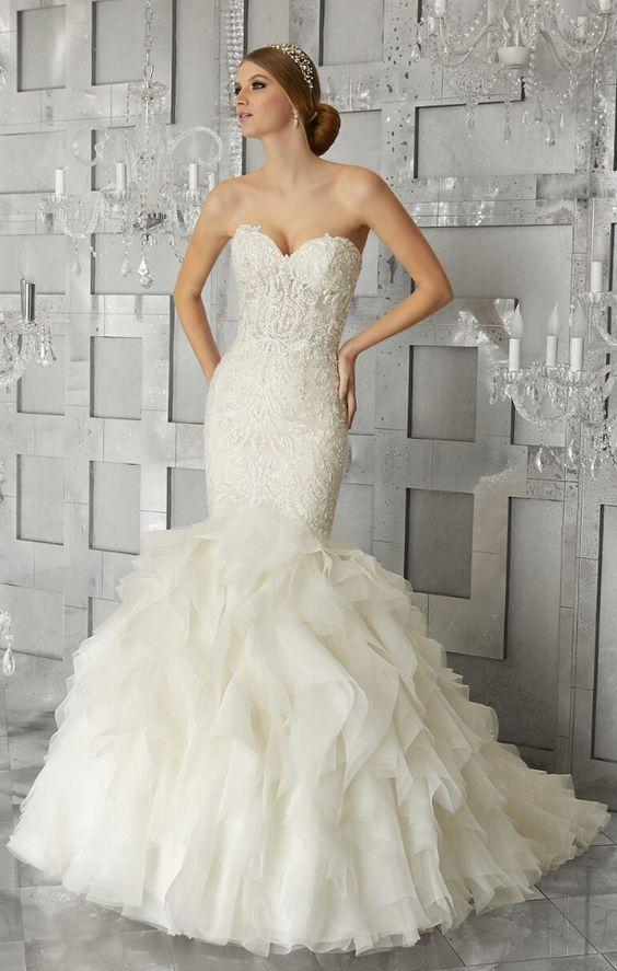 f6da238867e Featured Dress  Morilee By Madeline Gardner  Wedding dress idea.