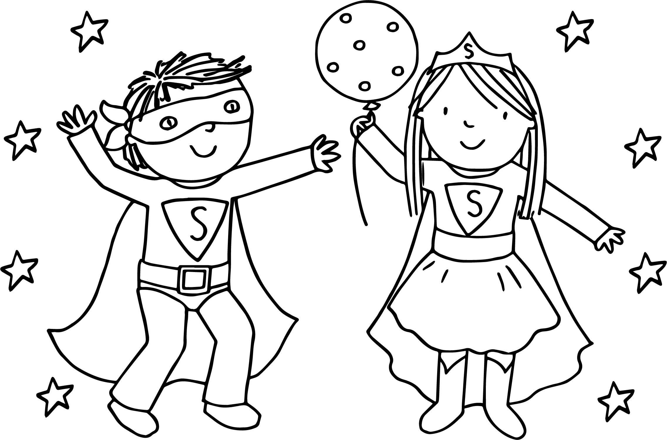 Boy And Girl Coloring Pages Coloring Pages For Girls