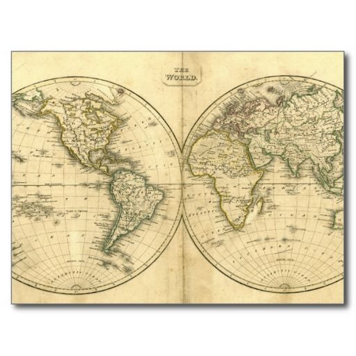 The best place antique world map post card antique world map post the best place antique world map post card antique world map post card world map posterprice gumiabroncs Gallery