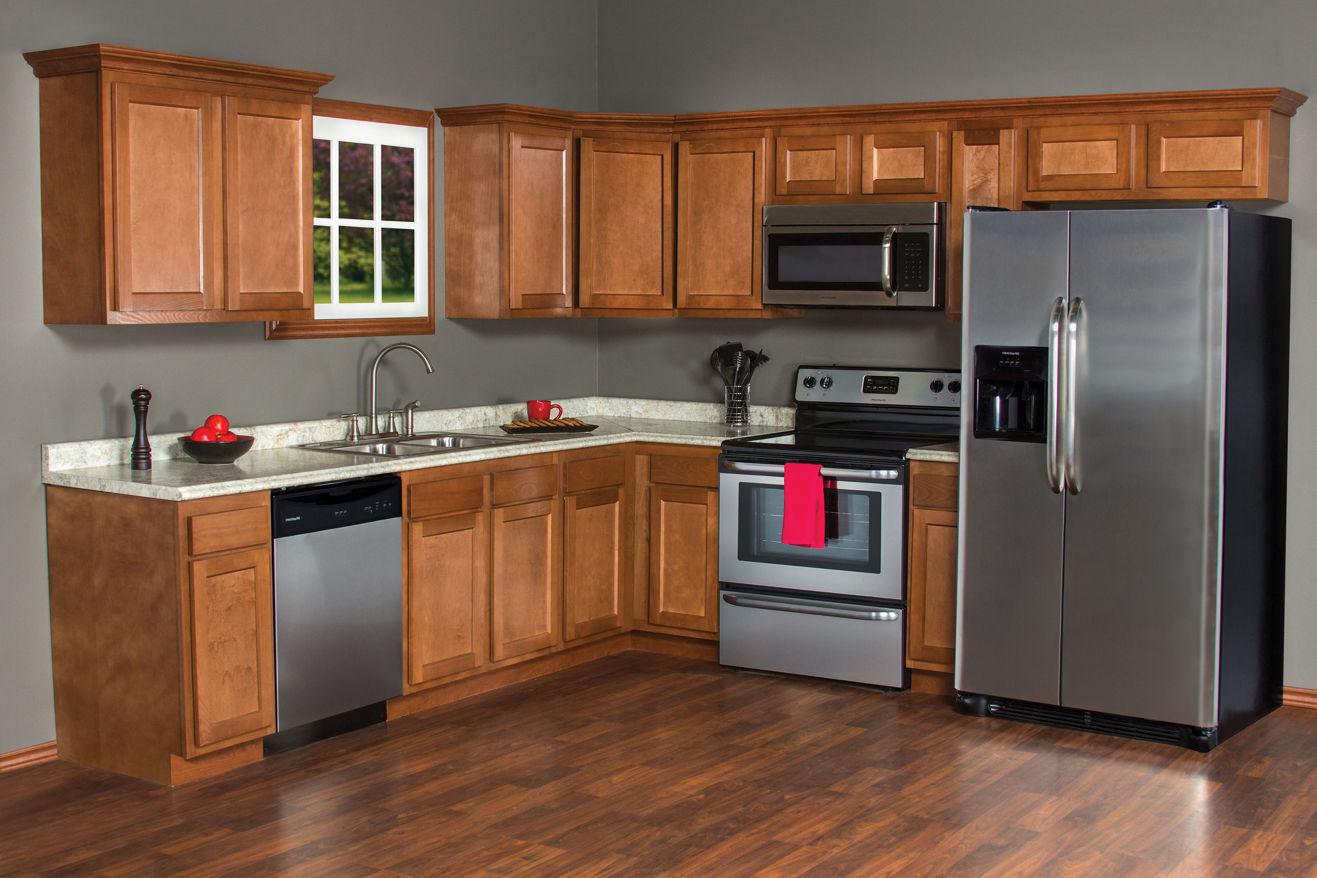 Do You Favor Darker Colors And Up To Date Shaker Style Then The Glenwood Kitchen Line Is Just For You Its Clean Edg Kitchen Remodel Kitchen Cabinets Kitchen