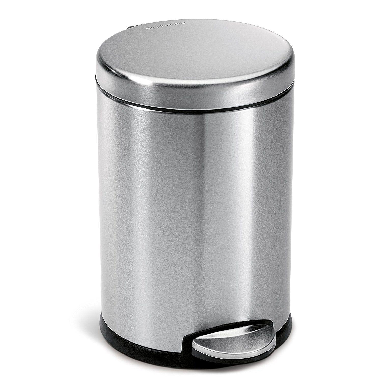 Top 8 Best Bathroom Wastebaskets With Lid Bathroom Trash Can Kitchen Trash Cans Simplehuman
