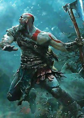 Metal Poster God Of War